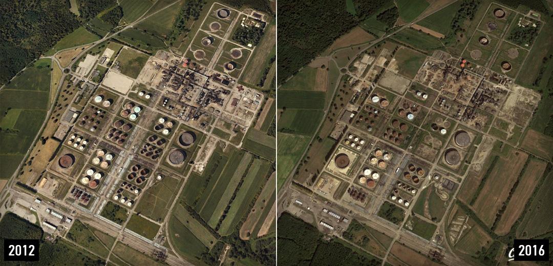Urbex à la raffinerie P+ de Reichtett - Urbex Alsace