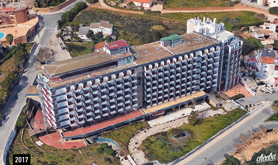 Hôtel Ponta da Piedade - Urbex Portugal