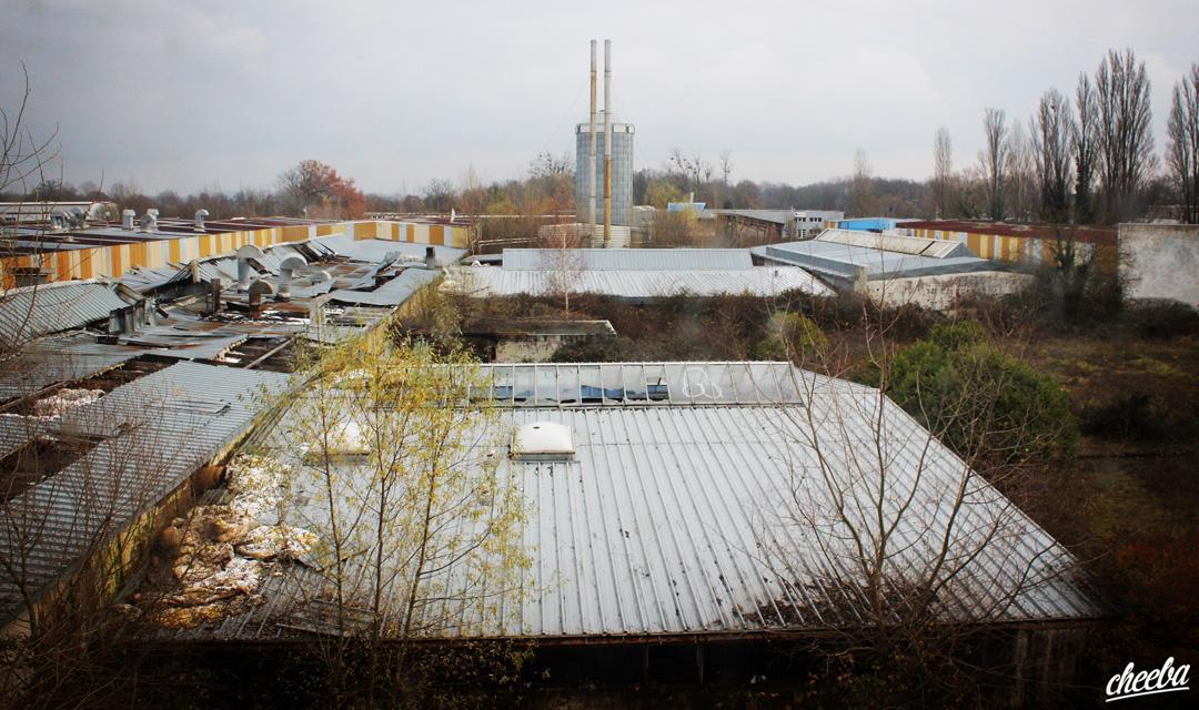 Urbex à l'usine du Pélican - Urbex Alsace