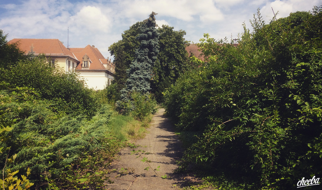 Urbex à la Caserne Skwat en Alsace - Urbex Alsace