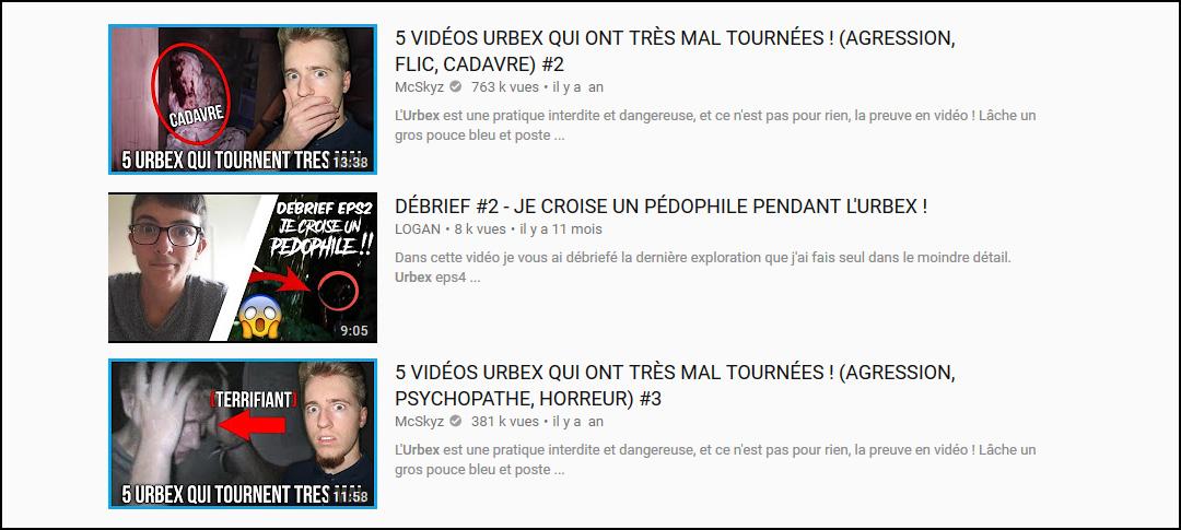 Urbex : le danger des vidéos putaclics