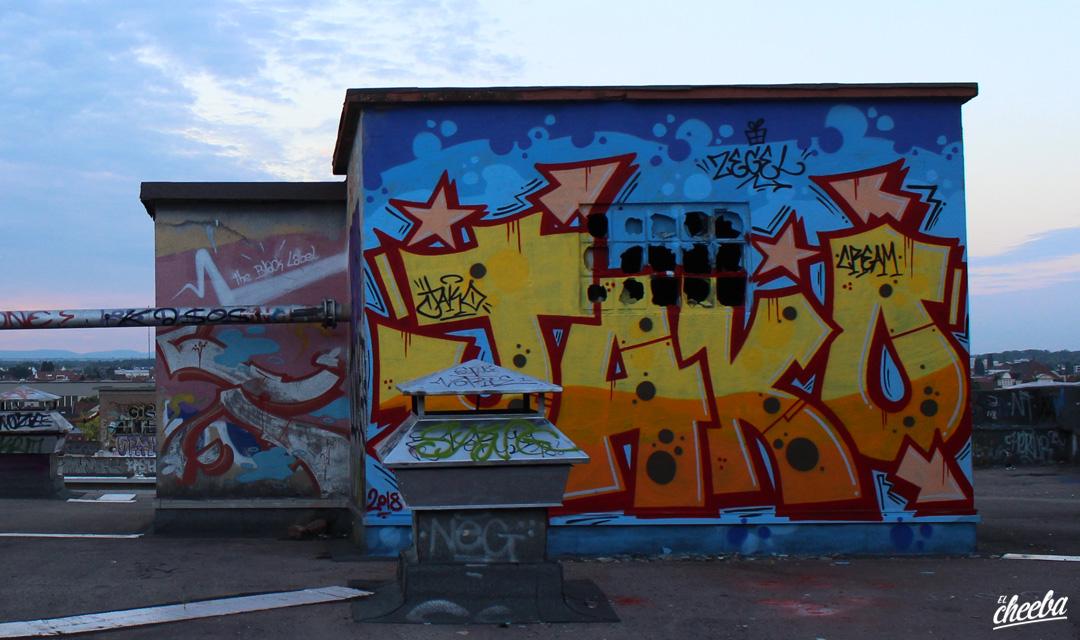 Graffiti & Street Art à Strasbourg by Jako Custom - Street Art Strasbourg