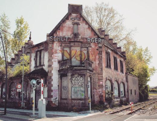Restaurant Schutzenberger au Port du Rhin Strasbourg - Urbex Alsace