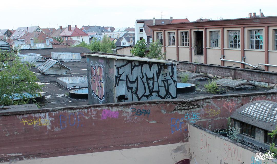 Graffiti & Street Art à Strasbourg by MMA / MESK1 - Street Art Strasbourg