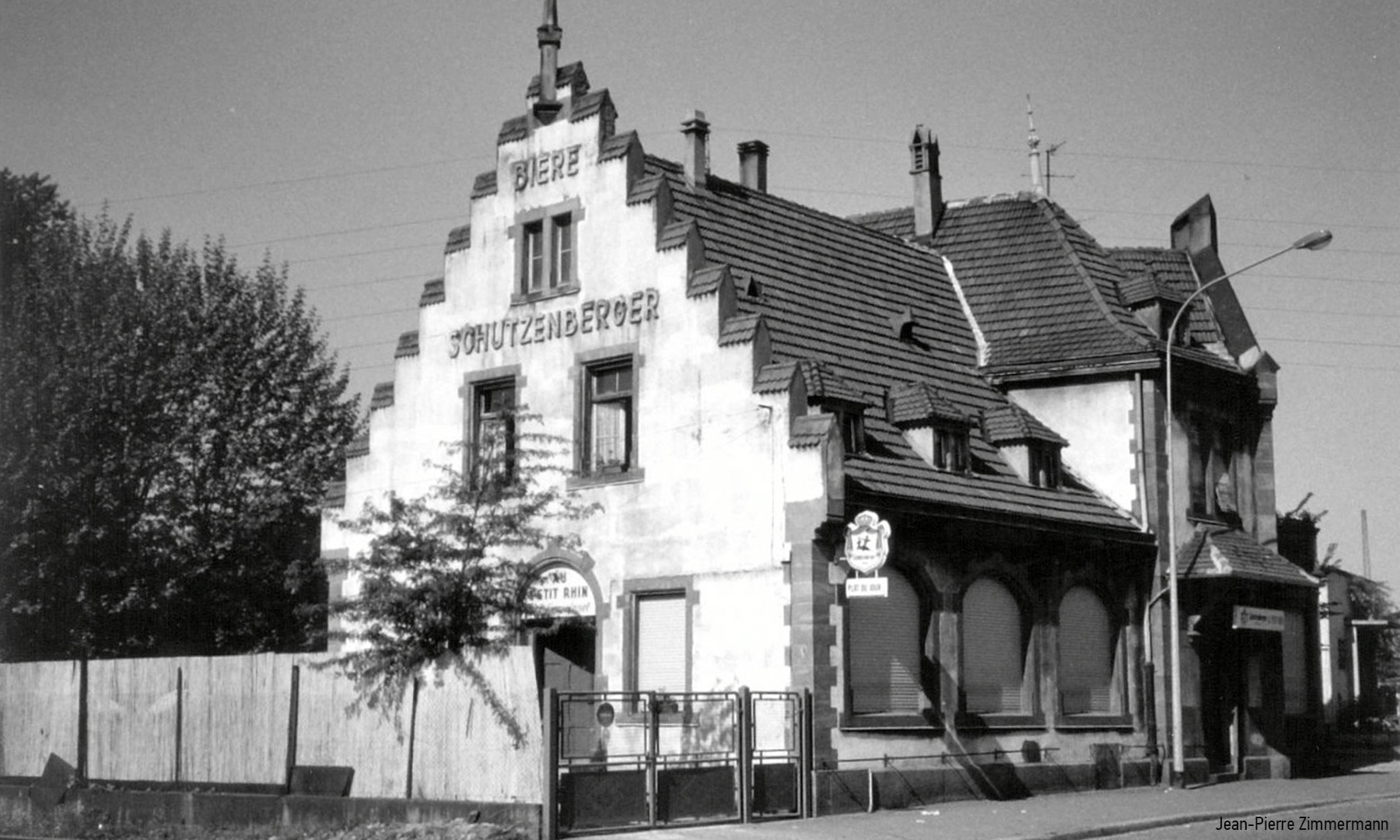 Restaurant Schutzenberger Au Petit Rhin au Port du Rhin Strasbourg - Urbex Alsace