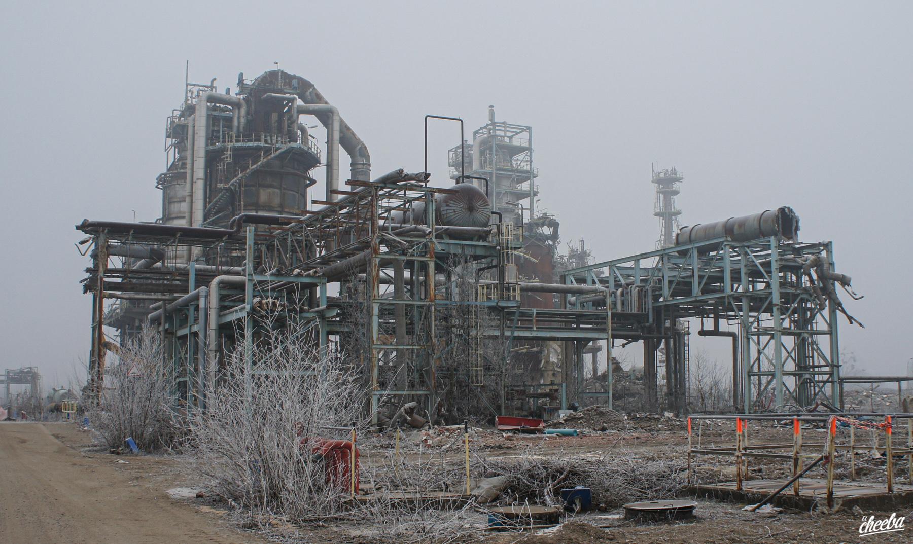 Urbex à la raffinerie Petroplus de Reichstett - Urbex Alsace by El Cheeba