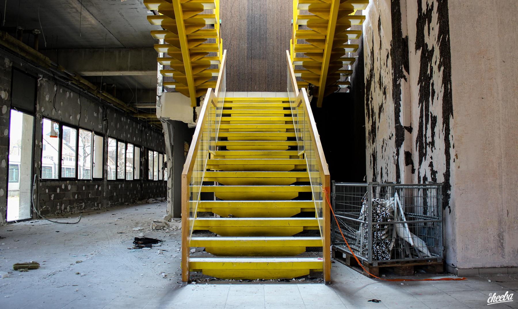 Urbex à l'usine Huron à Illkirch-Graffenstaden - Urbex Alsace by El Cheeba