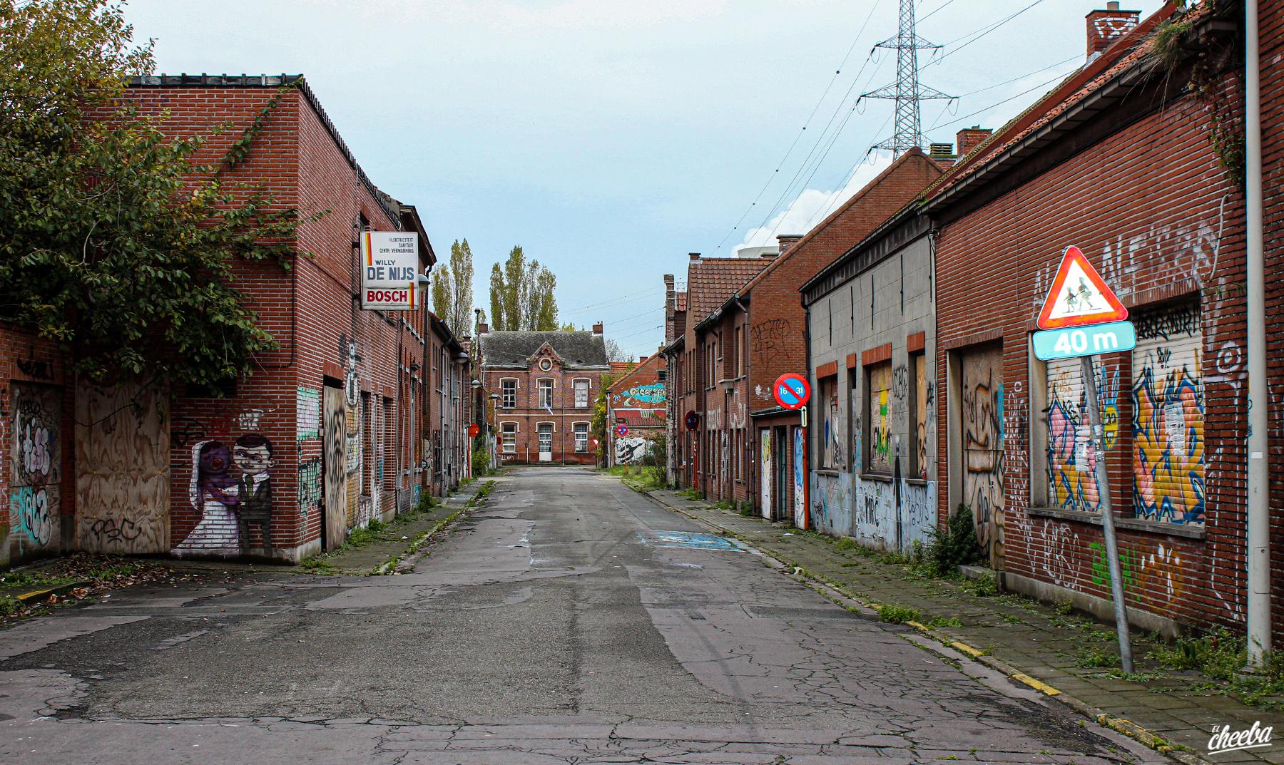 Urbex Doel village abandonné en Belgique - Urbex Belgique by El Cheeba