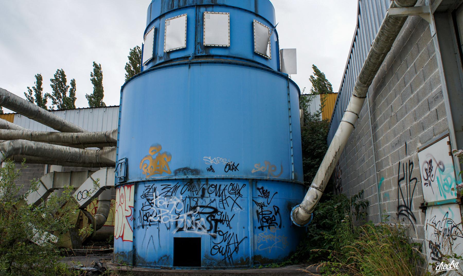 Urbex à l'usine de Meubles Ehalt à Fegersheim - Urbex Alsace by El Cheeba