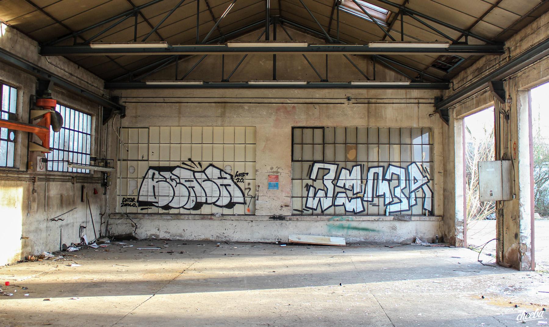 Urbex Parc et Ateliers VNF Strasbourg - Urbex Alsace by El Cheeba