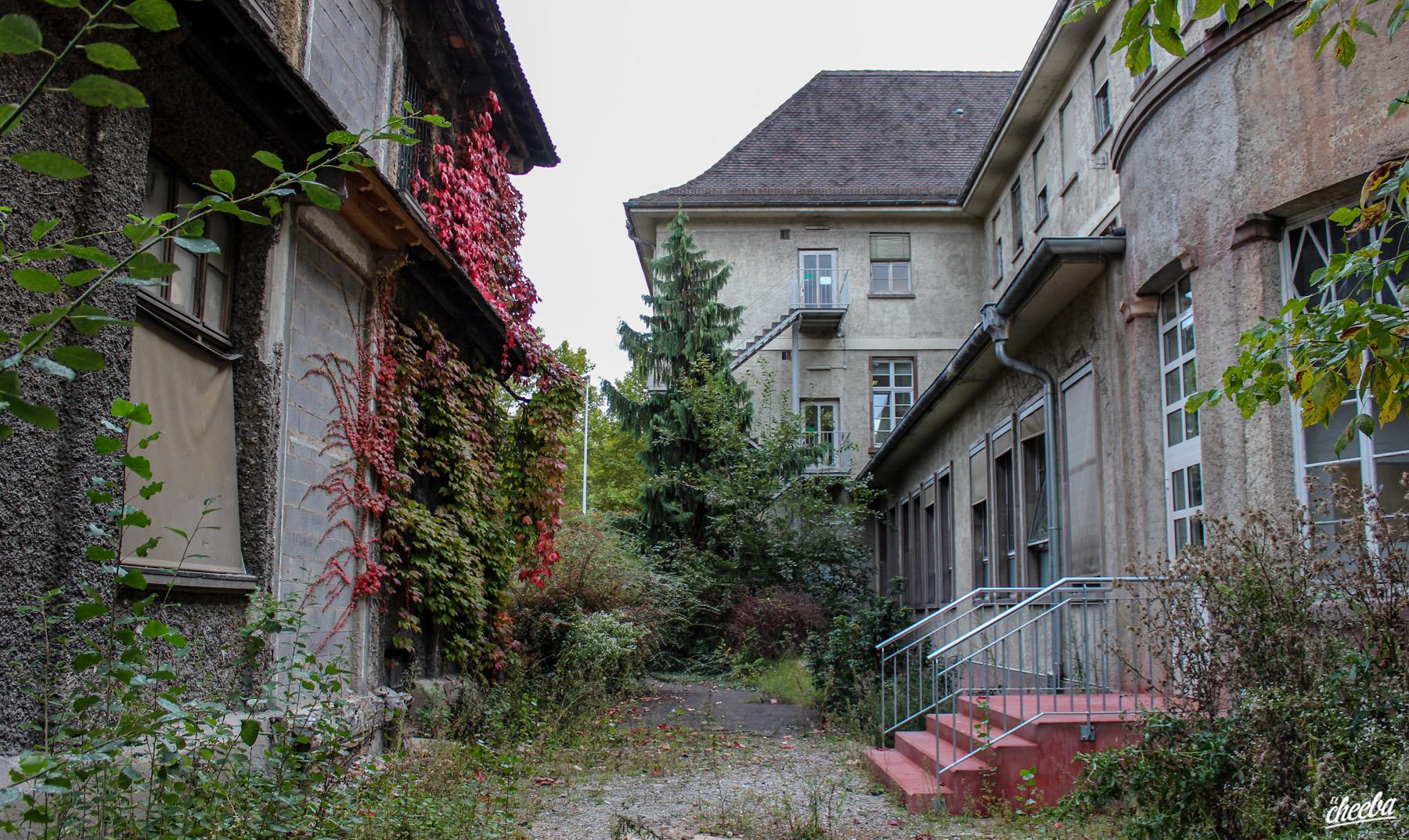 Urbex à l'Hôpital du Docteur Mabuse en Alsace - Urbex Alsace by El Cheeba