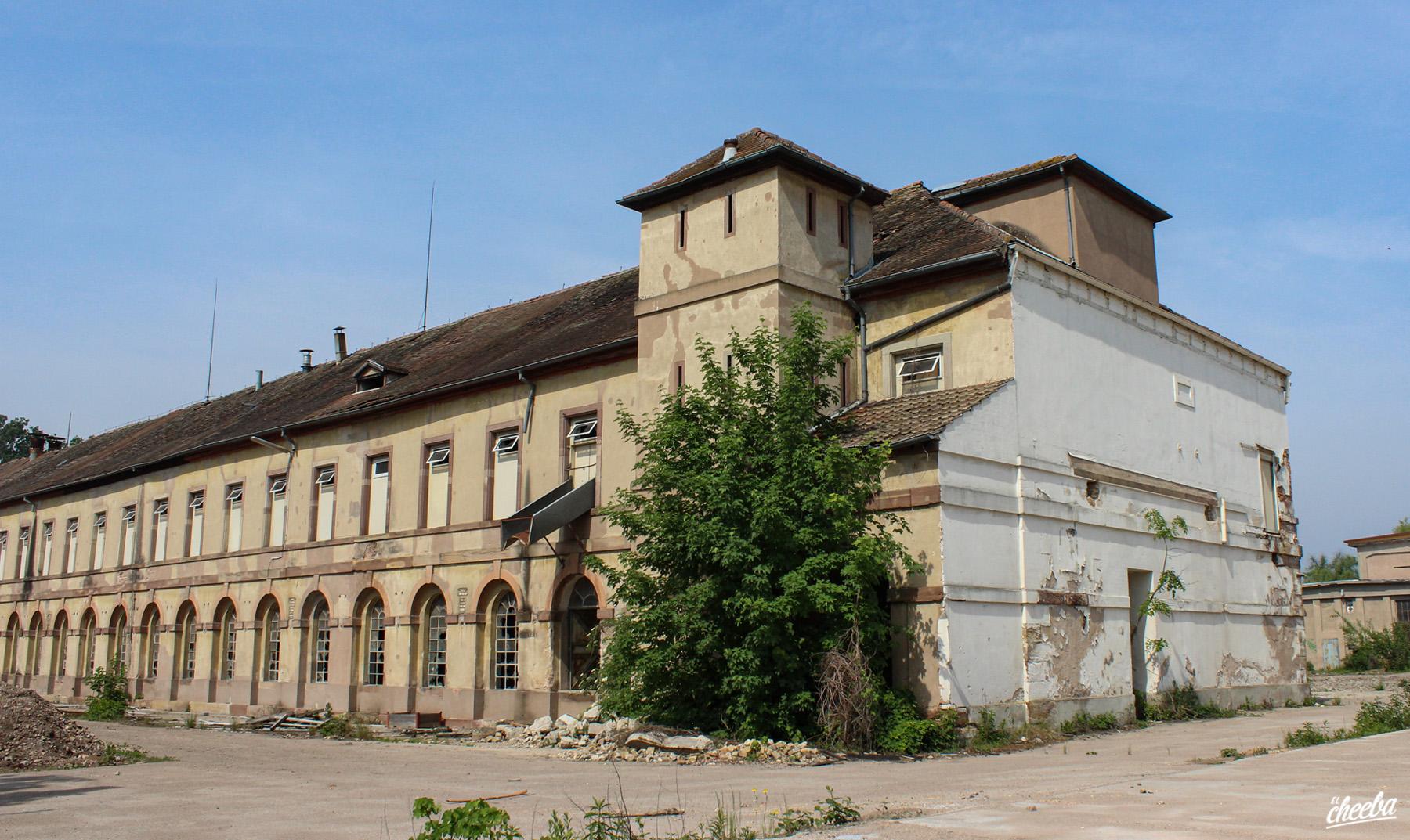 Urbex à l'ancienne filature de Huttenheim en Alsace - Urbex Alsace by El Cheeba
