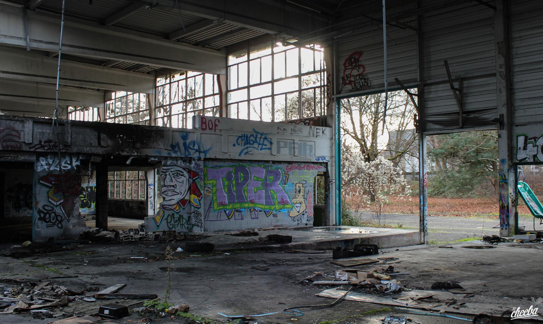 Urbex à l'Imprimerie Istra à Schiltigheim en Alsace - Urbex Alsace by El Cheeba