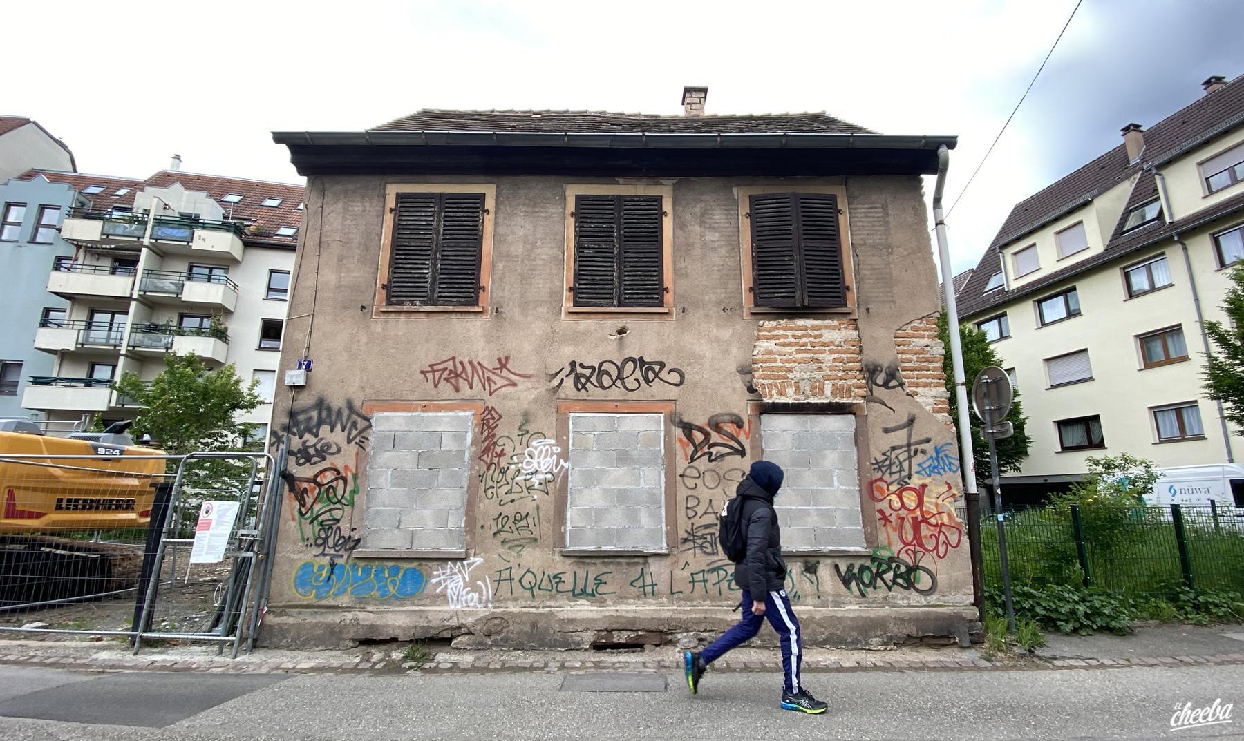Urbex à la Maison Number Seven - Urbex Alsace by El Cheeba