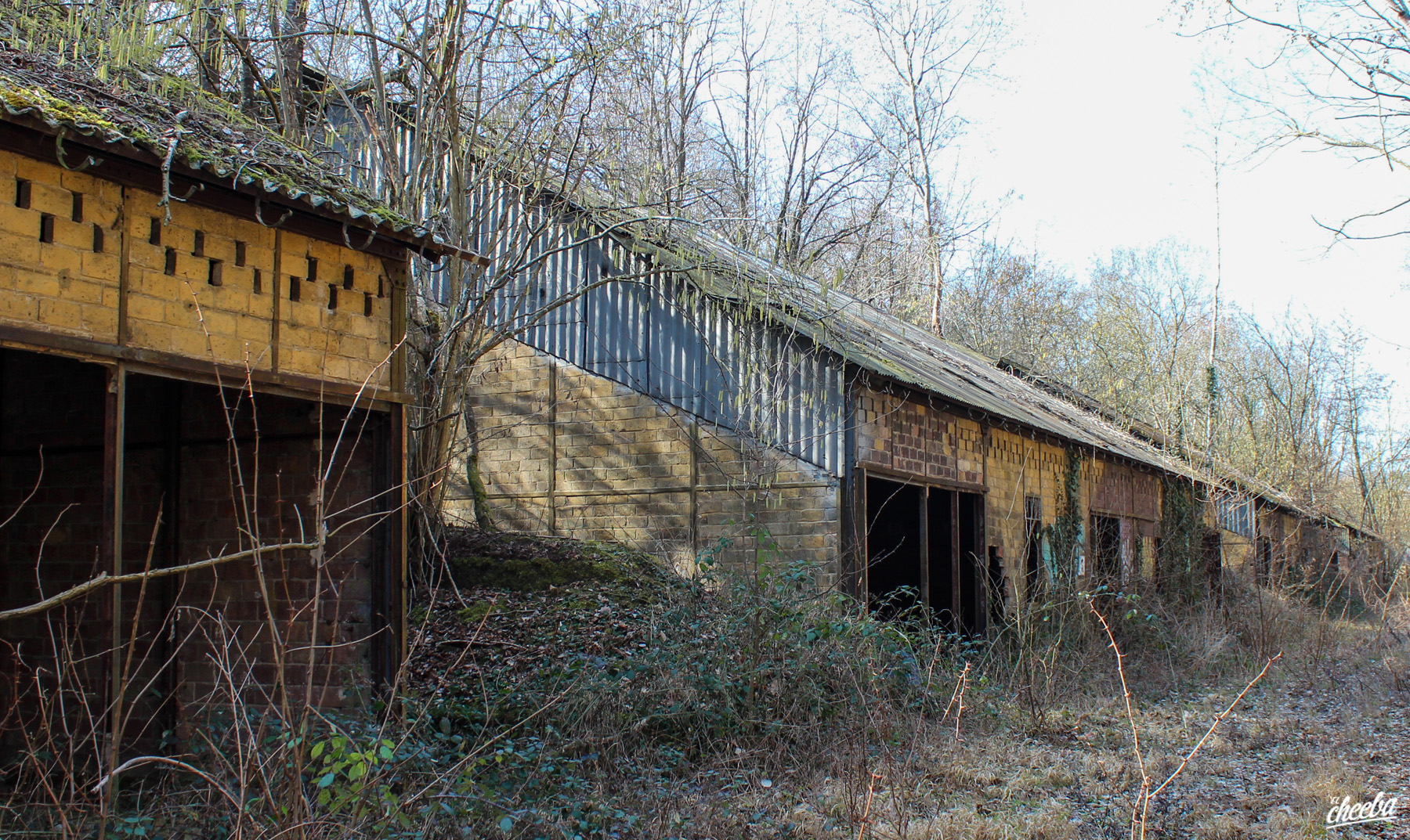 Urbex dans un camps militaire abandonné en Alsace - Urbex Alsace