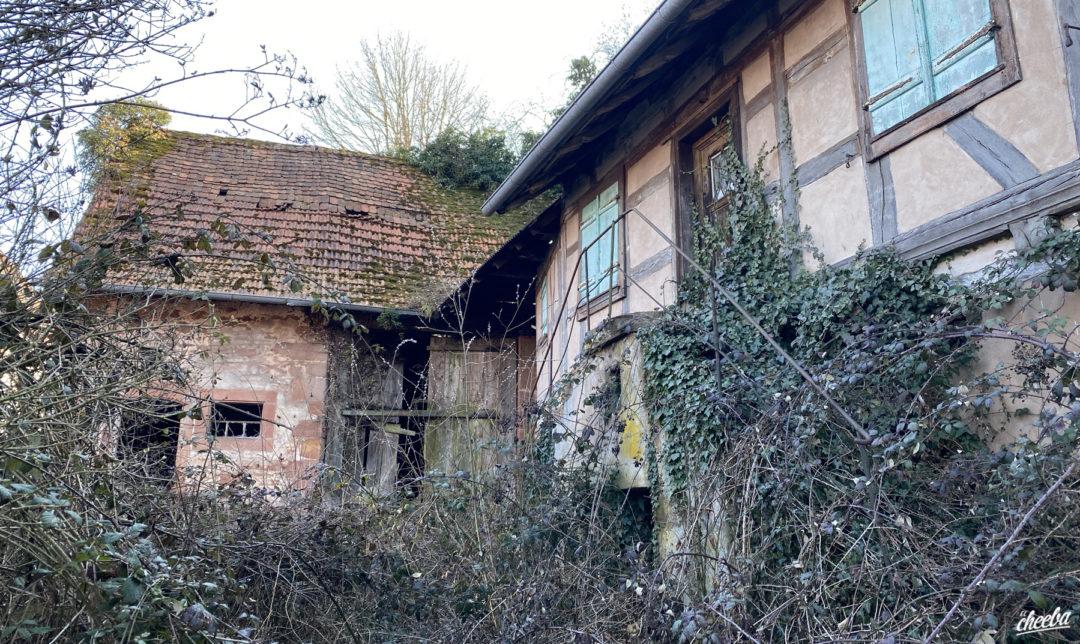 Urbex à la Ferme Wein, ferme abandonnée en Alsace - Urbex Alsace by El Cheeba