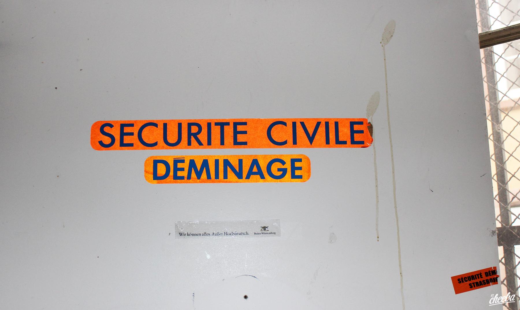 Urbex au commissariat de Police de la Nuée Bleue à Strasbourg - Urbex Alsace