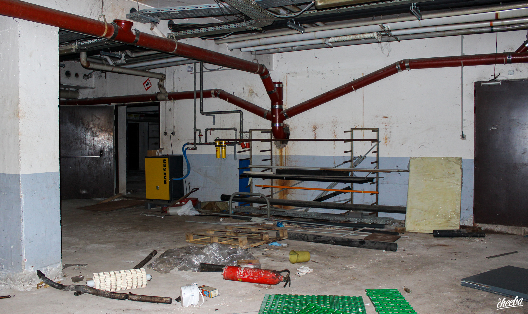 Urbex à Knack Factory - Urbex Alsace