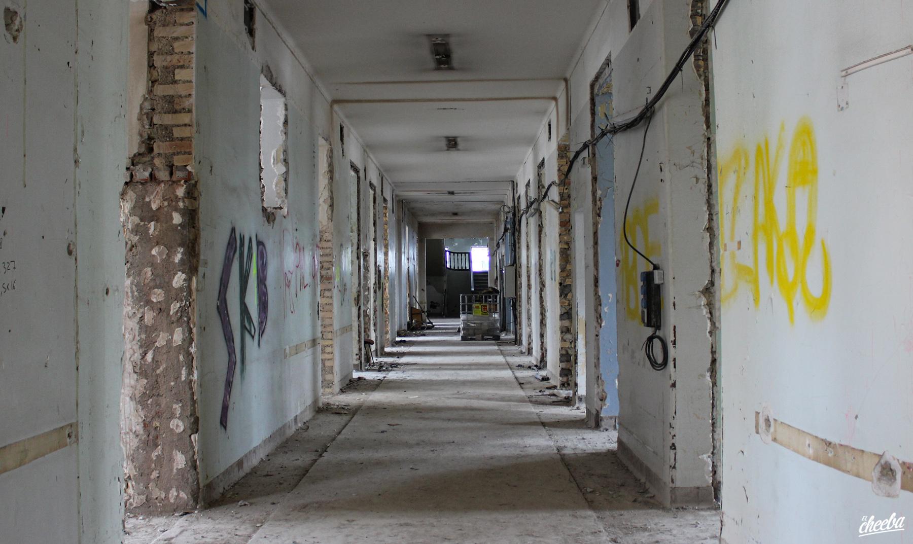 Urbex Hôpital abandonné en réhabilitation - Urbex Alsace