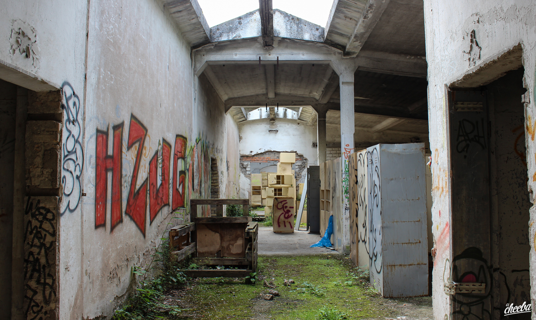 Urbex à la Caserne Manhattan, une caserne abandonnée en Alsace - Urbex Alsace