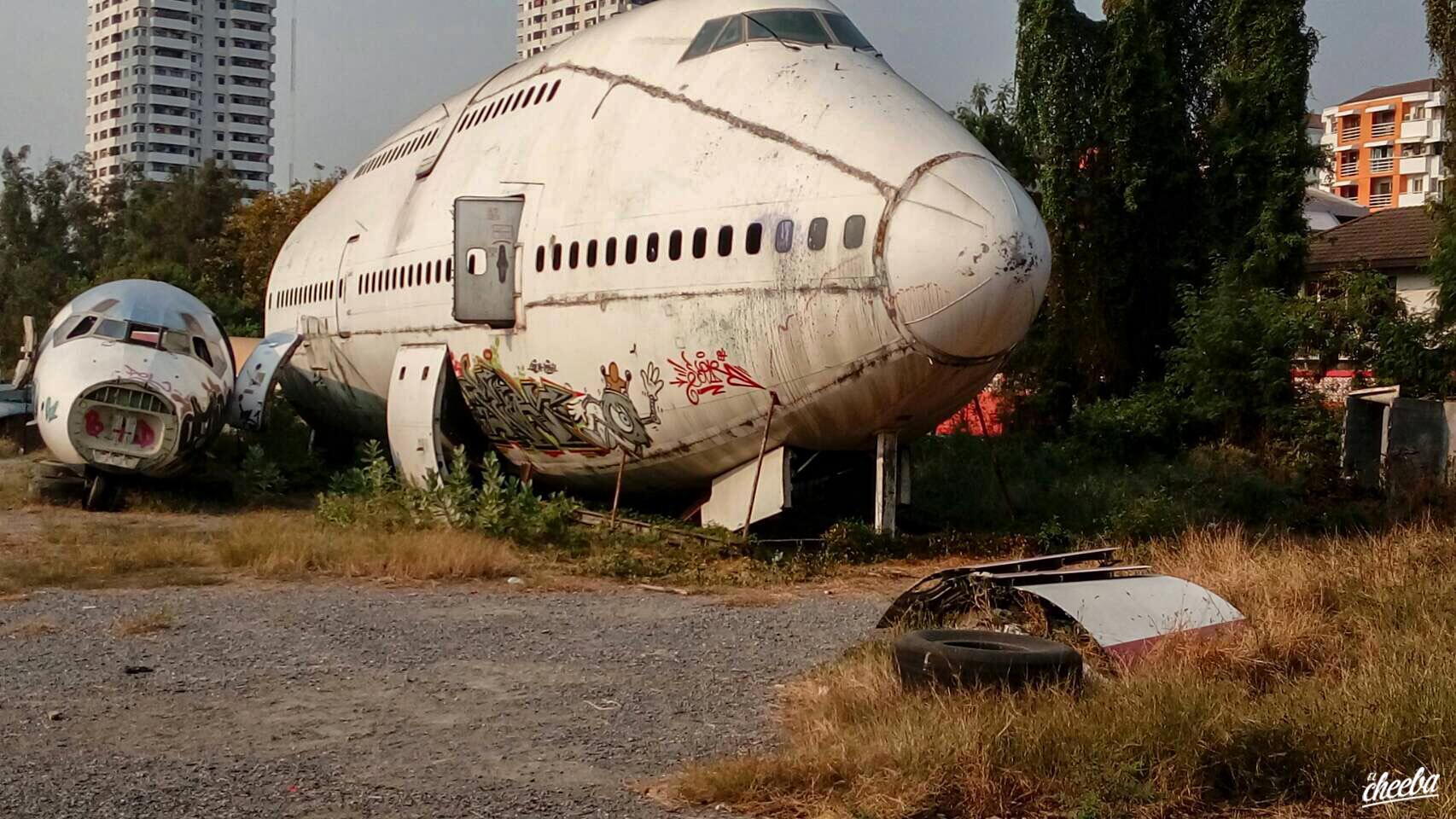 Boeing 747 Graveyard Bangkok - Urbex Boeing abandonné à Bangkok - Urbex El Cheeba